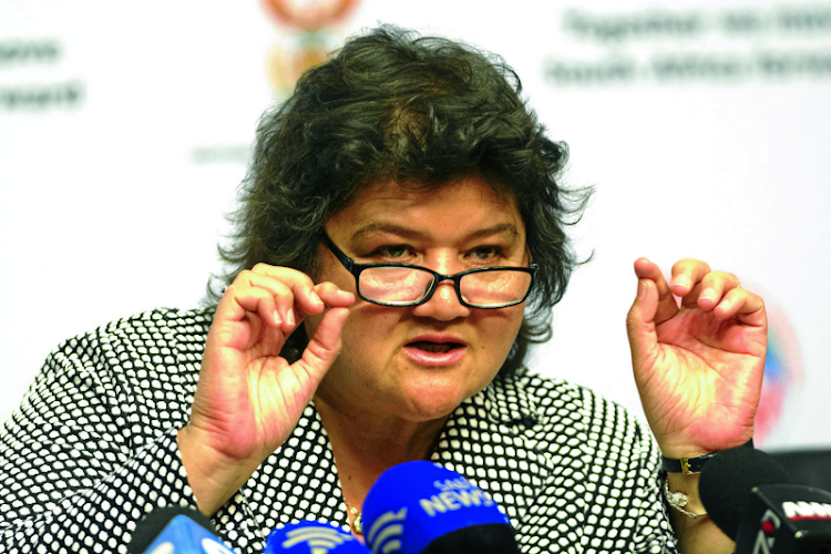 Lynne Brown: Eskom informed her it would cancel the probe. Picture: BUSINESS DAY
