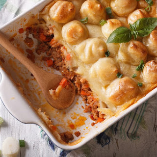 Shepherd'S Pie with Chunky Potato Topping Recipe
