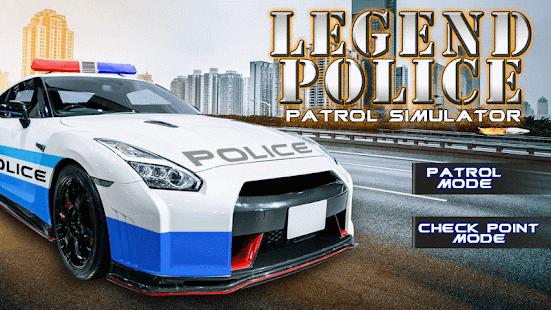 Legend Police Patrol Simulator - náhled