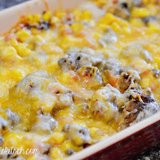 Cheesy Mexican Casserole.