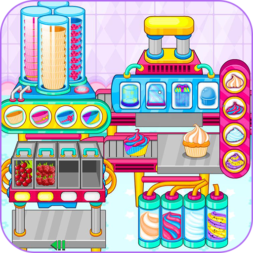 Cooking cupcakes factory Icon