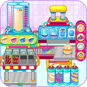 Cooking cupcakes factory