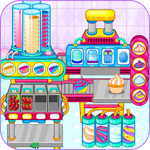 Cooking cupcakes factory for PC and MAC