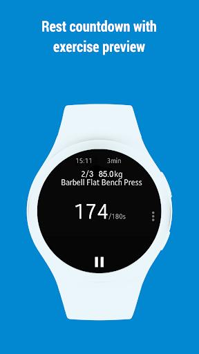 GymRun Workout Log & Fitness Tracker screenshots 11