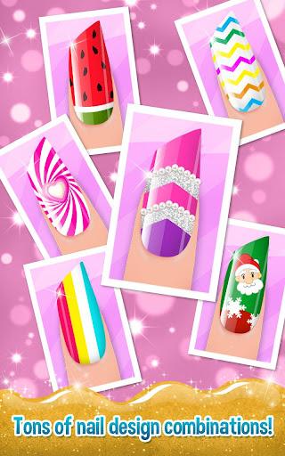 Nail Art Shiny Design Salon - Sweet Girls Manicure image   7
