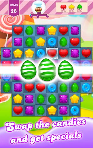 Sweet Candy - Match 3 Jelly screenshots 1