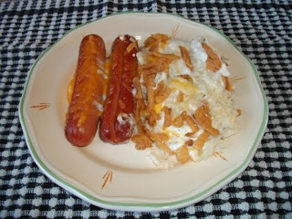 Hash Brown Taters With Dogs Recipe