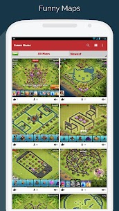 Maps for Clash of Clans – Town Hall & Builder Hall 2