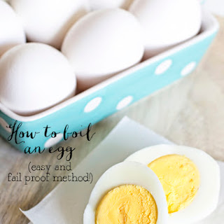 How to Boil an Egg Recipe