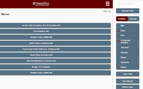 Hokie Dining- screenshot thumbnail