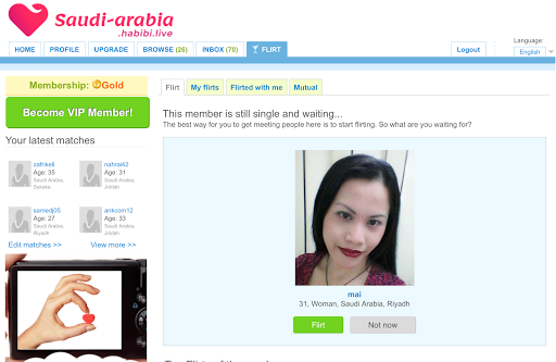 Saudi online dating