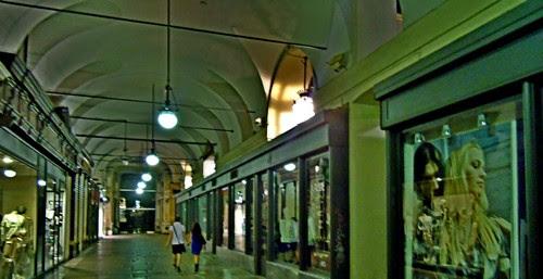 Portici di Torino, piazza Castello