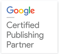 Google Certified Publisher Partner badge