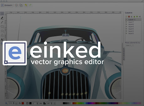 Einked Vector Graphics Editor