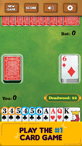 Gin Rummy Free! screenshots 1