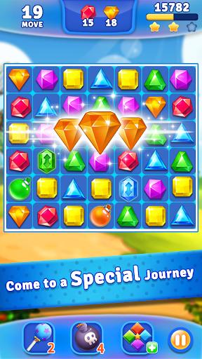 Jewels Crush - Match 3 Puzzle Aventure  captures d'écran 1