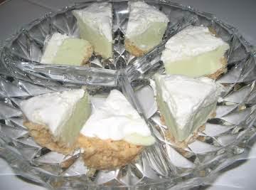 Lemony Fudge Pie
