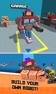 Crossy Robot: Combine Skins Screenshot