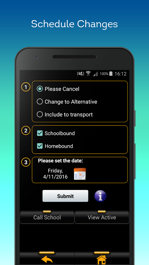 SchoolBusNotes- screenshot