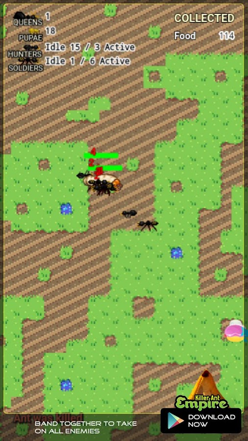 Killer Ant Empire Game / ALPHA- screenshot