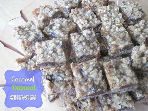 Caramel Oatmeal Chewies Recipe