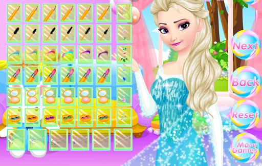 Elsa has Candy Make Up