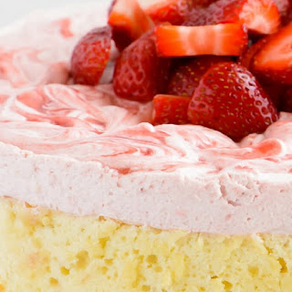 Strawberry Shortcake Cream Cake.