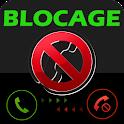 Bloquer numero privé et sms icon