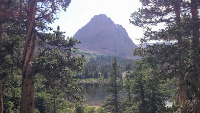 Photo: Island Lake and Flat Top Mountain