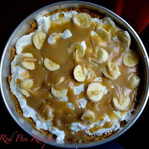 Curtis Stone's banoffee pie