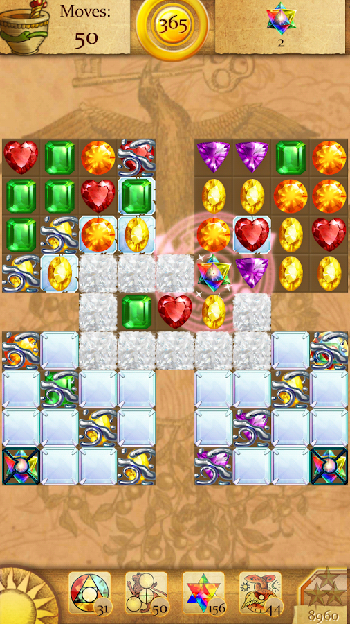 Clash of Diamonds: Match 3- screenshot