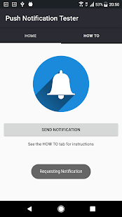 Push Notification Tester Screenshot