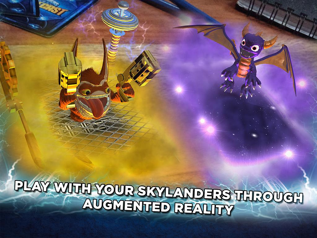 Skylanders Battlecast- screenshot