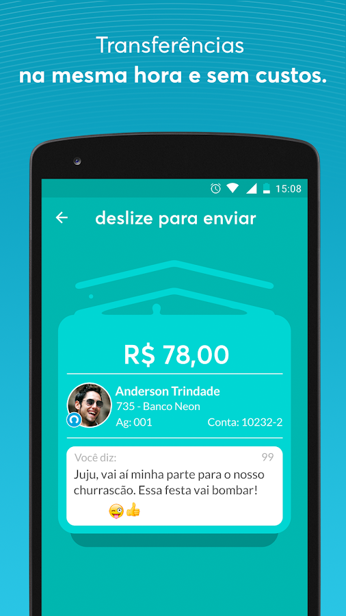Neon - Tipo um banco- screenshot