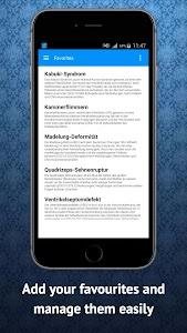 Medical Dictionary German screenshot 8
