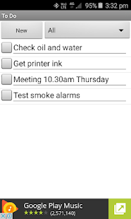 To Do List Notes- screenshot thumbnail