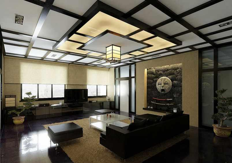 Home gypsum ceiling design android apps on google play for Living room designs pop