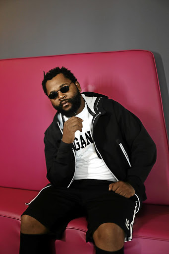 Johannesburger Sjava poses for a portrait in Midrand.