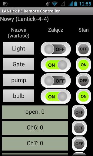 LANtick PE Remote Controller