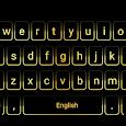 Gold Neon Keyboard apk