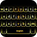Gold Neon Keyboard icon