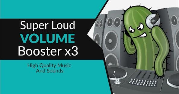 Super Loud Volume-Booster x3 - náhled