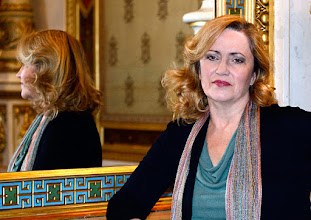 Photo: Interview Renate-Wagner / LAURA AIKIN (2.12.2015). Copyright: Barbara Zeininger