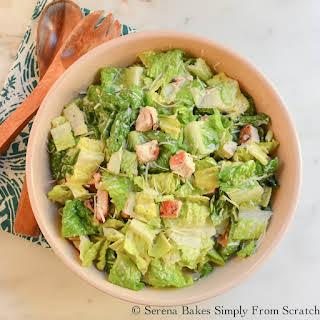 Healthier Caesar Salad Dressing.