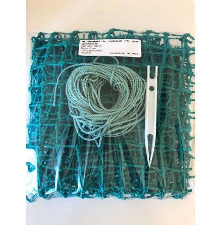 Lagningskit för Hönät , 30 mm grön PE, 1 m x 1 m