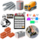 Construction Calculator(Concrete,Steel,Bricks etc)