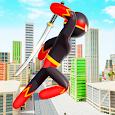 Stickman Ninja Hero: Gangster Crime Superhero Game