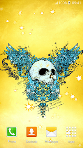 Skulls Live Wallpapers Apk 2