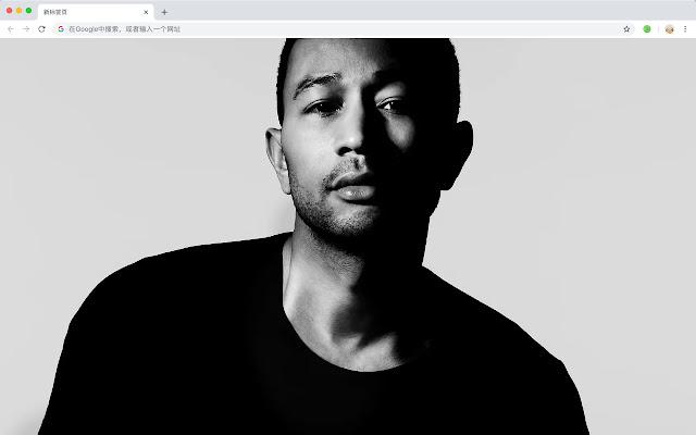John Legend New Tab Theme HD