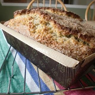 Poppy Seed Almond Quick Bread